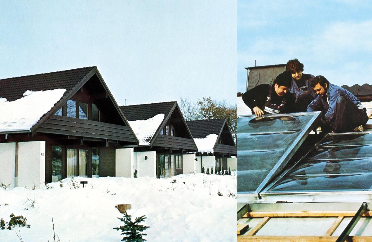 1975 Erste Energiesparhäuser
